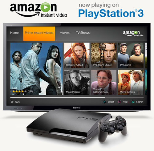Prime Instant Video Ps3