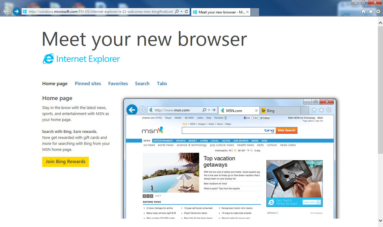 Internet explorer 11 final comes to windows 7 afterdawn for Window explorer