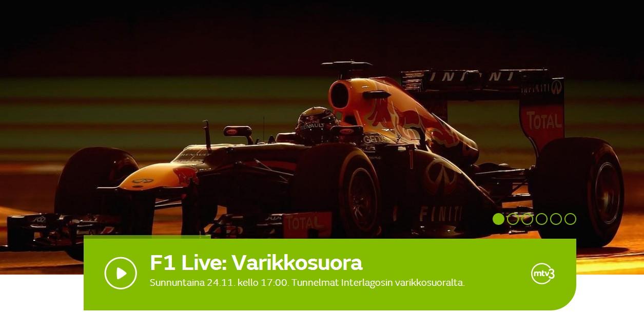 Mtv Max Formula 1