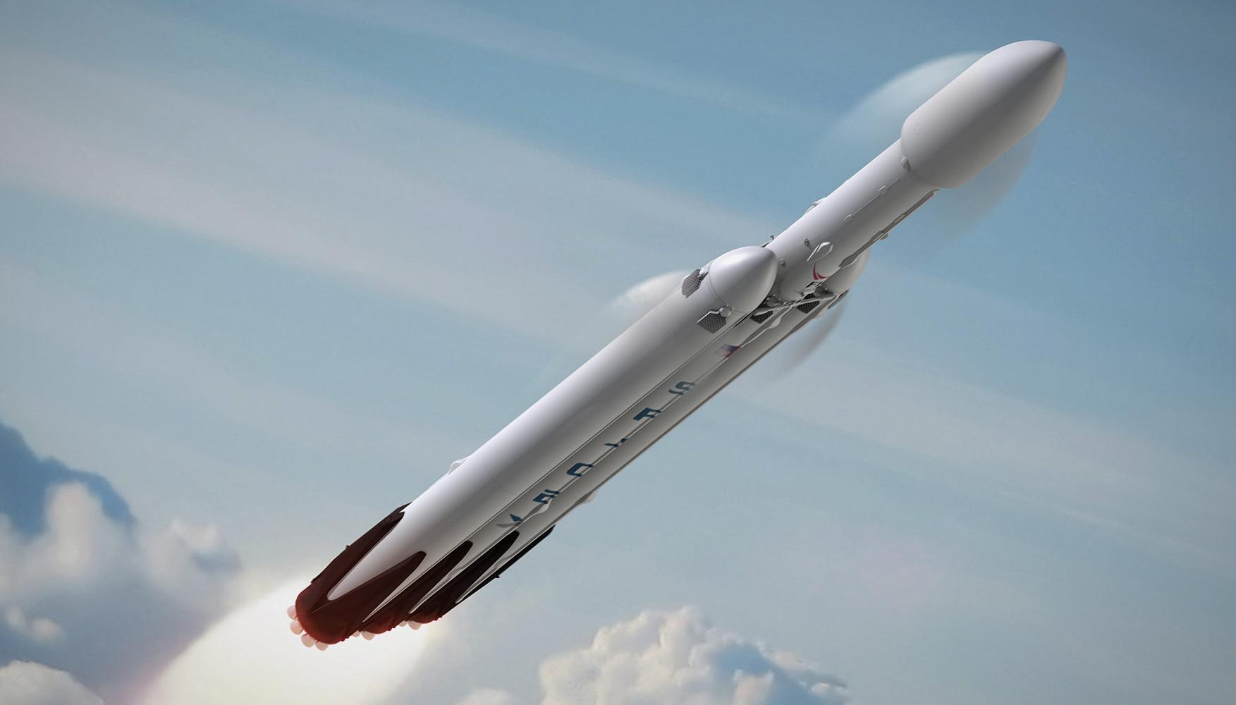 falcon heavy rocket concept-#main