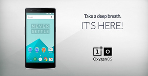 OnePlus releases their own operating system, OxygenOS