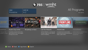 PBS launches on Xbox 360