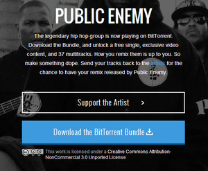 'Public Enemy' makes latest single available for free via BitTorrent