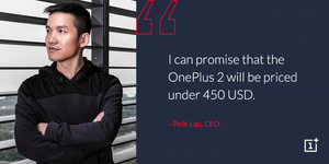 It's official: OnePlus 2 will sell for under $450