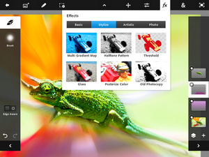 Adobe makes Photoshop available for iPad 2