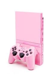 Vaaleanpunainen valtaa pelikonsolit