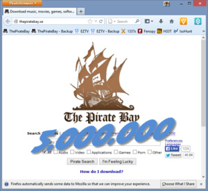 PirateBrowser reaches 5 million downloads
