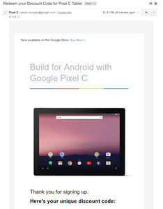 Google drops price of Pixel C Android tablet by 25 percent