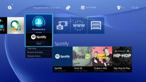 Spotify saapui PlayStationille yksinoikeudella