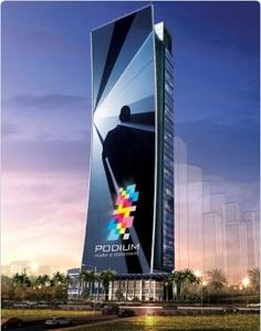 Maailman suurin näyttö nousee Dubaihin