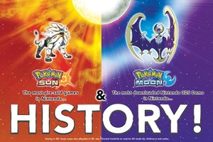 New Pokemon games are most pre-ordered in Nintendo history