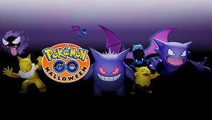 It's a Pokémon GO Halloween