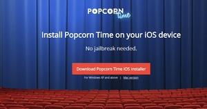 Popcorn Time for non-jailbroken iOS devices reaches 1 million downloads