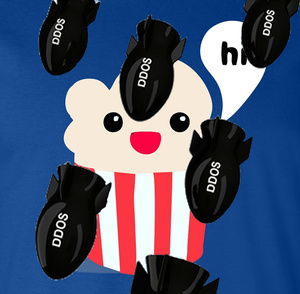 Popcorn Time onder zwaar DDoS vuur