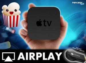 Popcorn Time ondersteunt nu ook Apple TV