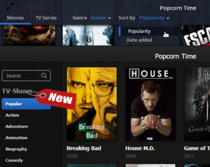 Popcorn Time of Time4Popcorn?