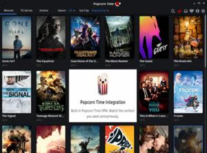 Nieuwe Popcorn Time v3.6 met VPN-ondersteuning