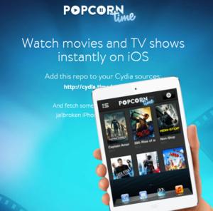 Popcorn Time gelanceerd voor iOS