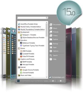 PortableApps.com brengt versie 15.0 uit.