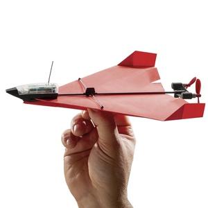 Tee paperilennokki itse - ja liitä siihen kännykällä ohjattava moottori, jälki on upeaa