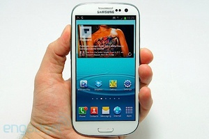 Here's the Samsung Galaxy S III