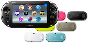Sony PS Vita PCH-2000 to hit Japanese shelves on October 10th