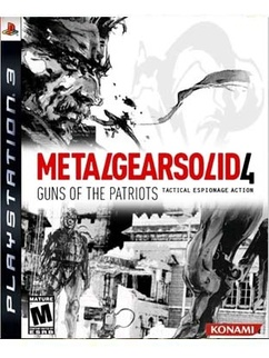MGS4 PlayStation 3 bundle details revealed