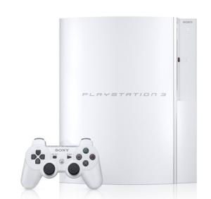 Japan to get exclusive white PlayStation 3 40GB model