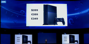 Sony E3 Keynote: PlayStation 4 priced at $399 in U.S., will launch in November