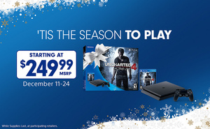Sony cuts $50 from PS4 bundle price this month