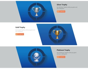 You can earn PlayStation Network credit by getting Trophies