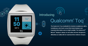 HTC licenses Qualcomm Toq smartwatch hardware design, launch device this month