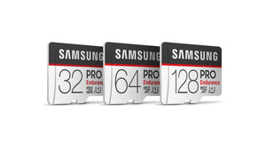 Samsung intros PRO Endurance SD cards suitable for intensive video tasks
