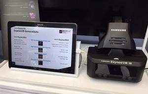 Samsungin tuleva virtuaalitodellisuuslaite kuvissa