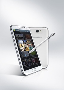 Samsung unveils the impressive Galaxy Note II