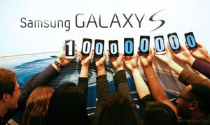 Samsung Galaxy S series hits 100 million sold