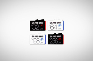 Samsung unveils the first Universal Flash Storage memory cards