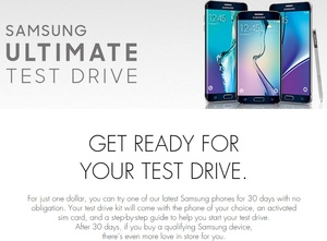 Samsung runs out of Galaxy phones to loan out in new 'Test Drive' program