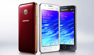 Samsung unveils its first real Tizen smartphone, the Z1, for the Indian market