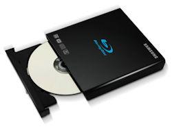 Samsung unveils slim portable BD drive for mobile PC market