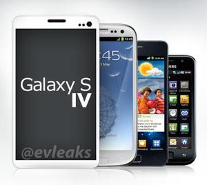 Se et billede af Samsungs Galaxy S IV mobil