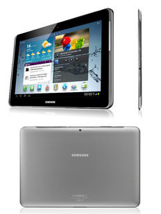 MWC 2012: Samsung shows off Galaxy Tab 2 10.1