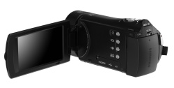 CES 2011: Samsung shows HMX-H300 series, ultimate HD family camcorders