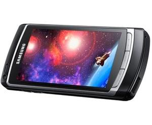 Testissä Samsung I8910 Omnia HD -teräväpiirtokännykkä