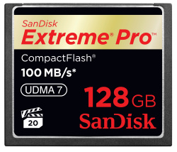 CES 2011: SanDisk announces fastest, high-capacity CompactFlash Card