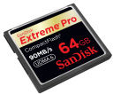 SanDisk CompactFlash cards reach 64GB, 90MB/s transfer rate