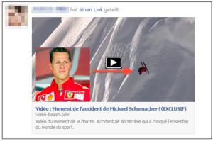 Oppassen voor filmpje ongeluk Michael Schumacher