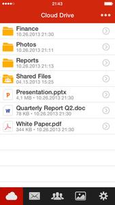 Kim Dotcom's MEGA cloud storage service now with native iOS app