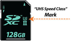 SD Card format for 4K video announced; defines 30 MB/s minimum write speed