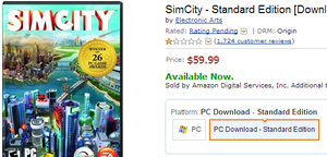 EA's horrendous always-on DRM leads to Amazon temporarily stopping sales of new 'SimCity' game, users to get free game as compensation